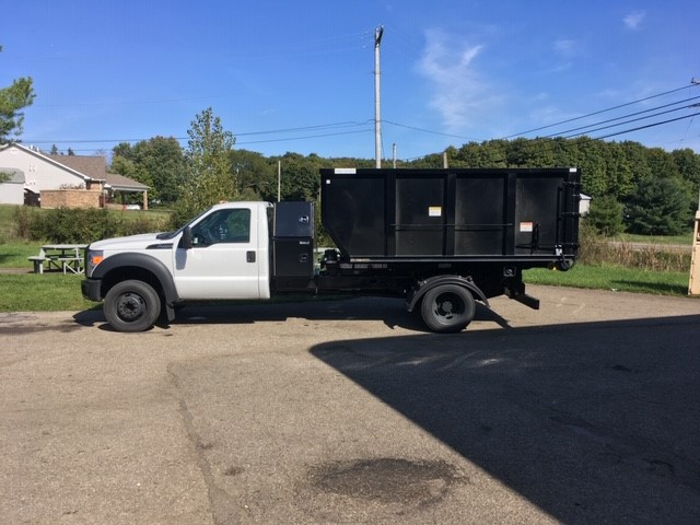 Dumpster & Delivery Truck